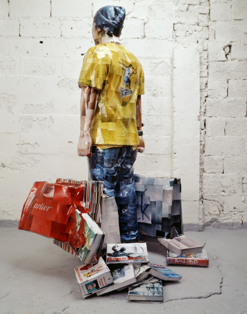2005 Error, 2005, C-print, mixed media, 185x138x118cm