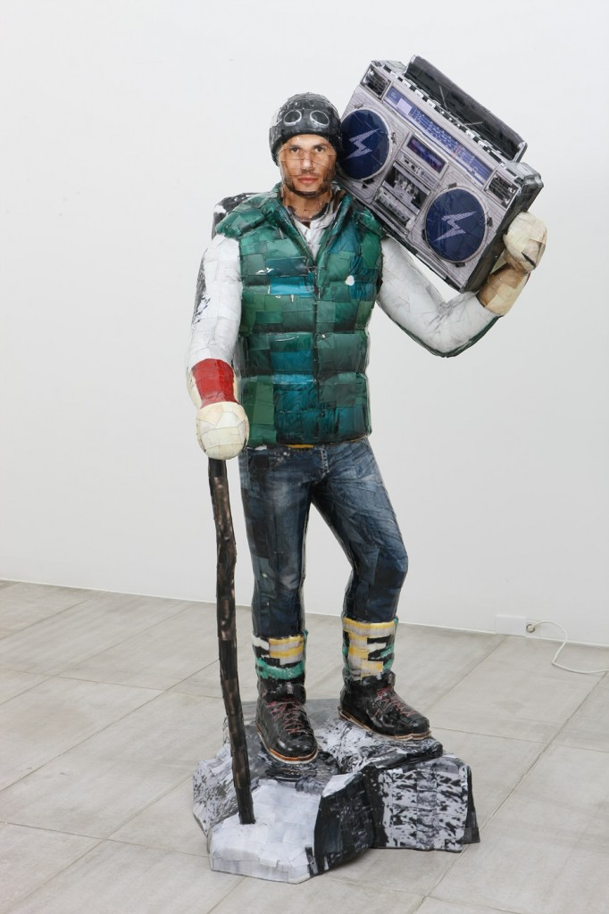 Boombox, 2011, C-print, Mixed media, 228x103x100cm(1)