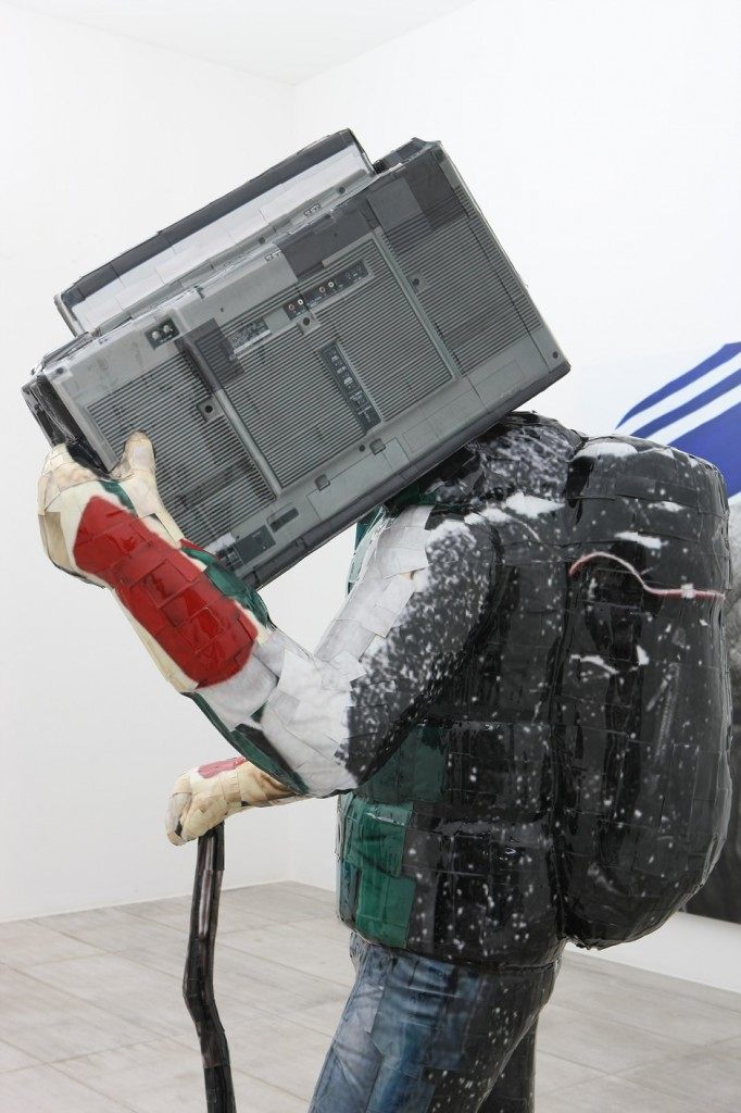 Boombox, 2011, C-print, Mixed media, 228x103x100cm(2)