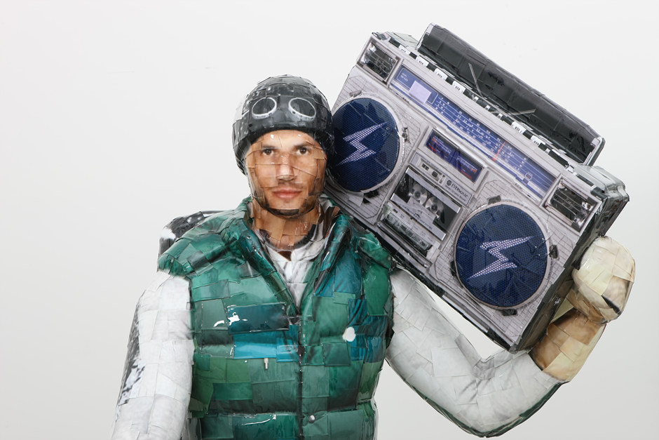 Boombox, 2011, C-print, Mixed media, 228x103x100cm(3)