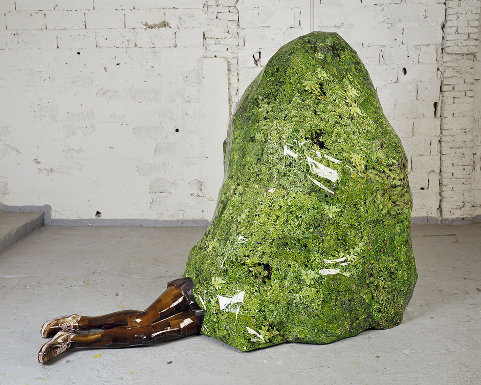 Limbo Garden, 2007, C-print, mixed media, 245x177x120cm