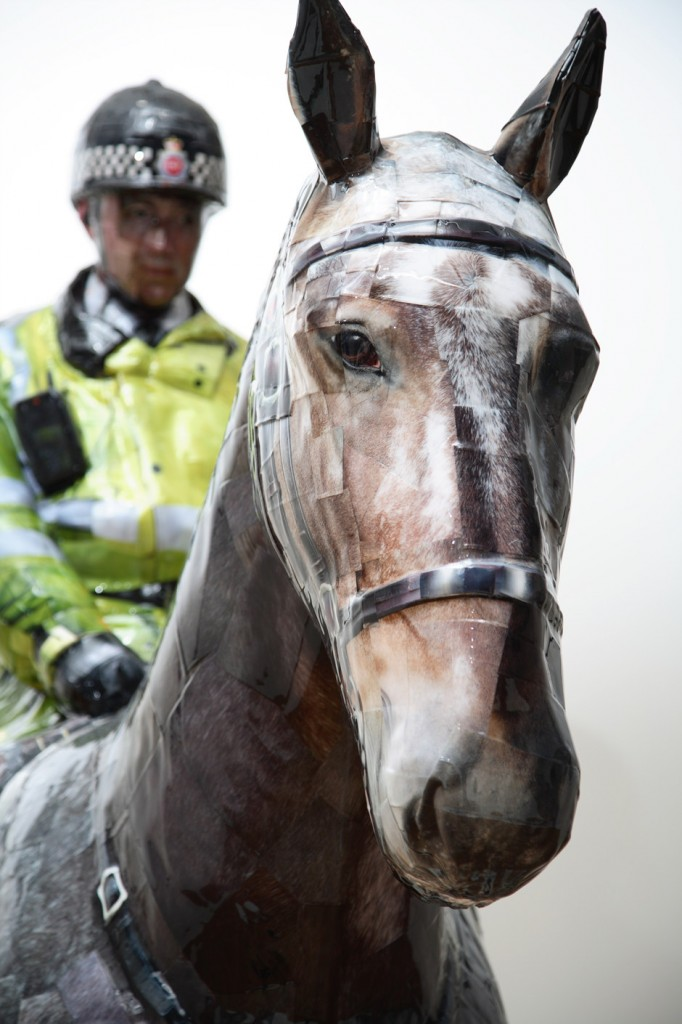 Manchester Mounted Police, 2008, C-print,mixed media, 278x110x128cm(2)