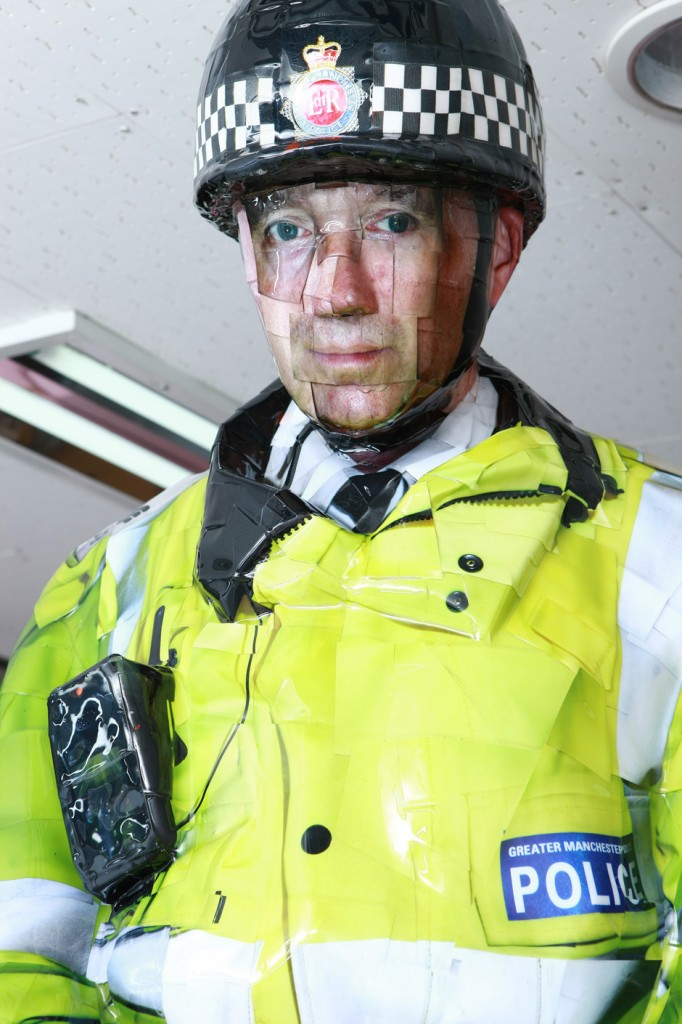 Manchester Mounted Police, 2008, C-print,mixed media, 278x110x128cm(3)