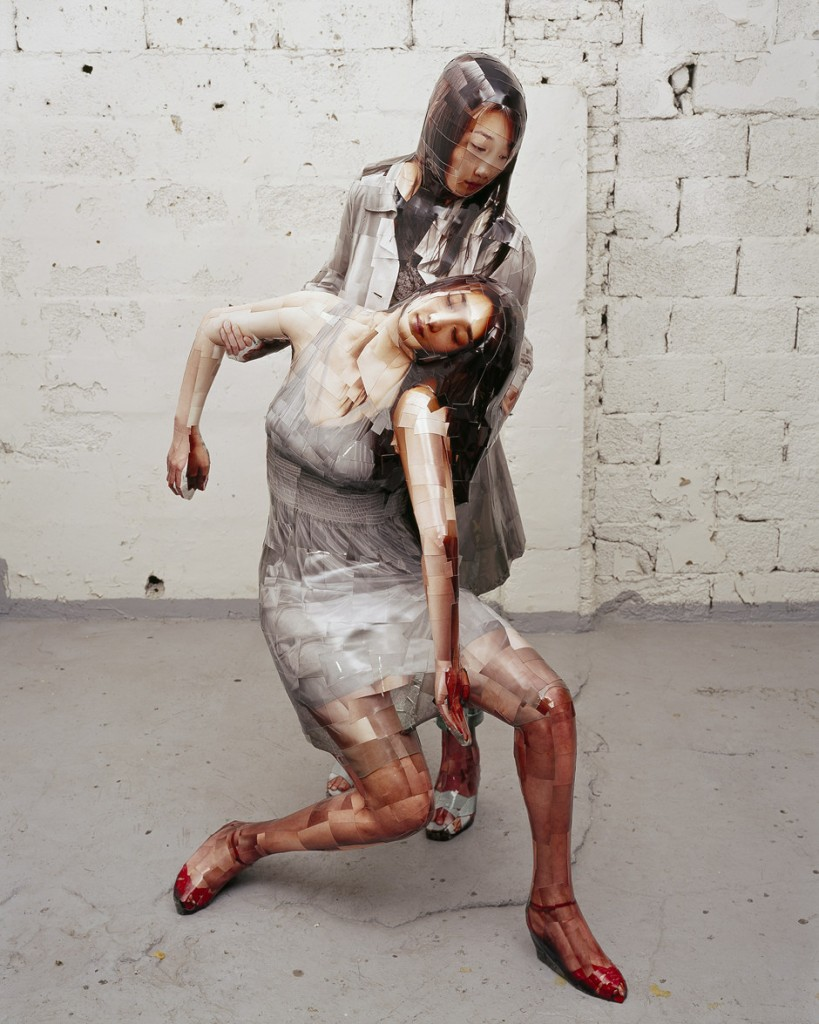 Pieta, 2007, C-print, mixed media, 174x120x83cm